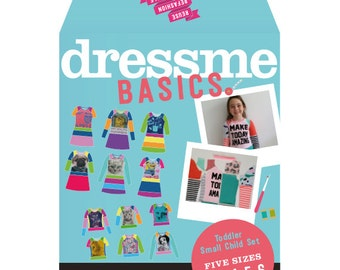Dressme Basics - Pattern Set - Toddler/small child set - Sizes 2-6