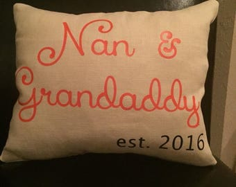Personalized Accent Pillow