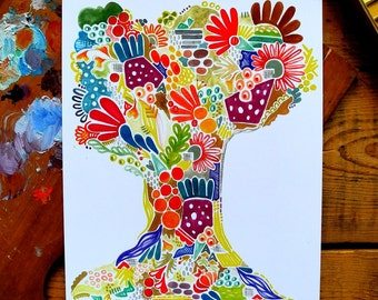 tree of life - 8 x 10 inches
