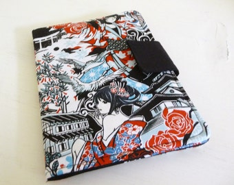 Kindle Paperwhite Cover, Soft Book Style, Japanese Anime Manga Fabric