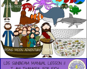 LDS Sunbeam Manual (Primary 1) Lesson 11: I Am Thankful for Fish