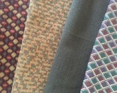 Lot of Four (4) Upholstery or Drapery Samples