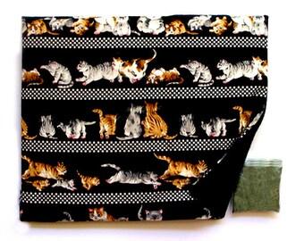 Catnip Mat plus Catnip Playful Cats Kittens Refillable Reversible
