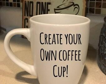 custom coffee mug create your own mug coffee cup custom