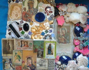 Set of Three Lady of Perpetual Assistance, Black Madonna - Altars, Mosaics, Shrines