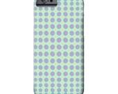 Purple Polka Dots, Mint, iPhone 6 Case, iPhone 6 Plus Case, iPhone 7 case, Circle,  Art on iPhone cases, iPhone 7 case, iPhone 5S case