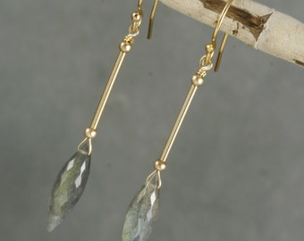 FINAL SALE - Labradorite  Earrings