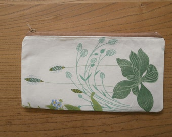 wildflowers pencil case