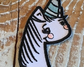 SALE Magical Unicorn - Iron on patch 3 inch