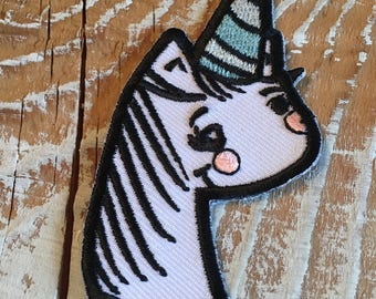 Magical Unicorn - Iron on patch 3 inch