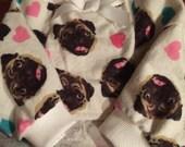 Ready Made Flannel Small Dog Pajamas