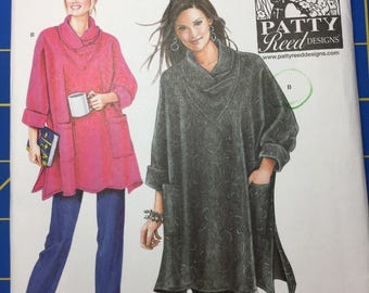 Simplicity Misses' 2289 loose fitting tunic and knit pants sizes XS-XXL Patty Reed design uncut