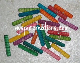Birch Spiral Dowel Pins