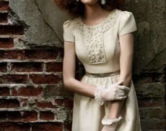 Kentucky Derby Royal Ascot Vintage Inspired Garden Tea Party Bridal Wedding Bow Veil Hat Fascinator