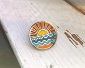 Ocean - Hard Enamel Pin