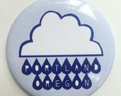 Portland, Oregon Rain Cloud Magnet