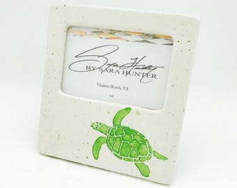 Rush Order for Sea Turtle Picture Frame Only.