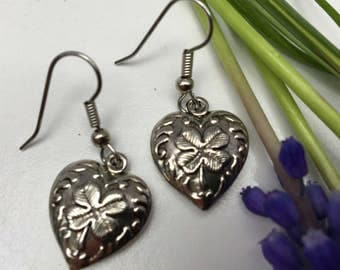 Irish Heart Earrings