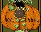 Prim Grinning Flowers - RESERVED For Kimm Kay