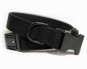Blacked Out Dog Collar