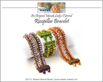 eTUTORIAL Rizopillar Bracelet