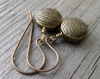 Earrings for Sensitive Ears - Gift Idea - Every Day Earrings - Everyday Earrings - Dangle Earrings - Titanium Earrings - Boho Earrings