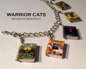 Warrior Cats Mini-Book Series Bracelet (shop closing May 31)