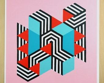ART PRINT // Untitled Too // 8x8