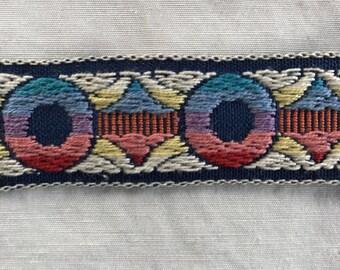 Mulit color sari border