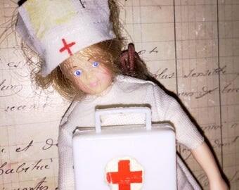 Horsman Red Cross Nurse Doll