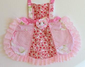 Hello Kitty Apron, Kitty apron, dress up, costume