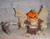 Demon of The Fall- Chenille Stem Miniature