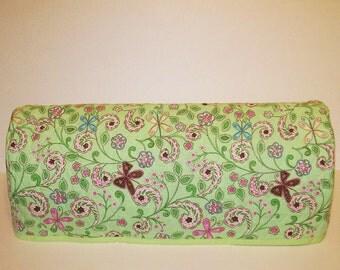 Last One!  Cricut Expression Dust Cover / Cricut Expression Machine Cozy / Lt. Green Floral