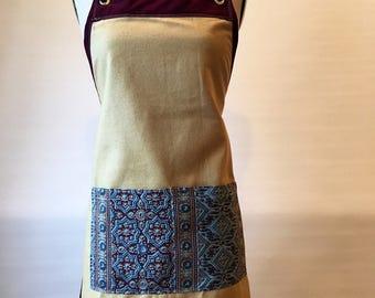 Violet- women's full apron