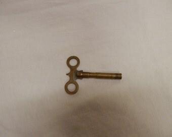 Antique Waterbury Clock Key