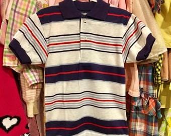 70s Polo Shirt Kids 6/7