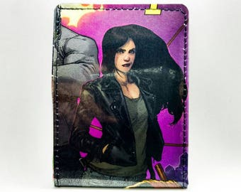 Jessica Jones Wallet - Sewn Comic Book Wallet