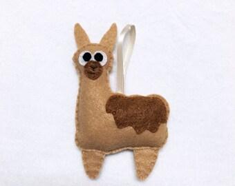 Llama ornament | Etsy