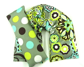 Spa Gift Set:  Neck Wrap Eye Pillow Set Hot Cold Therapy Heating Pad Microwave Heat Pack Cold Pack Gift Guide