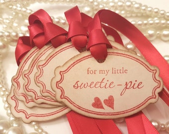 Valentines Gift Wrap, Valentines Cards, Valentines Day Gift, Valentine Gift Tag, Sweetie Pie, Guess who, Secret Admirer, Be My Valentine