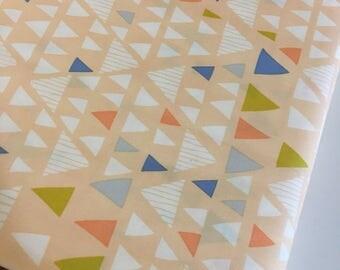 Boho Fabric, Geometric fabric, Mojave Fabric, Tribal, Triangle fabric, Mojave in Opaque fabric, Leah Duncan for Art Gallery- You Choose th