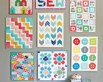 Cluck Cluck Sew MINI QUILTS Quilt Pattern Quilting Sewing Fabric