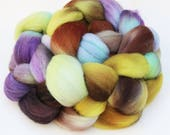 "Polwarth Wool Spinning Fiber, 4 oz, ""Emerge"""