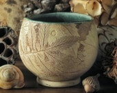 Tea Bowl with Agrimony