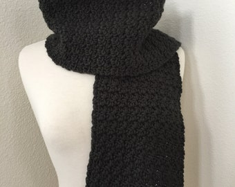 Cloudy Day Scarf...Raven