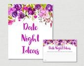 Purple Floral Date Night ...