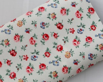 3534 - Cath Kidston Sprig (Offwhite) Oilcloth Waterproof Fabric - 28 Inch (Width) x 17 Inch (Length)