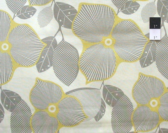 Amy Butler AB27 Midwest Modern Optic Blossom Linen Cotton Fabric By Yard