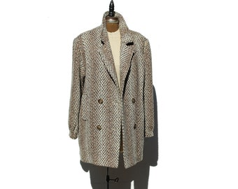Vintage Wool Short Coat