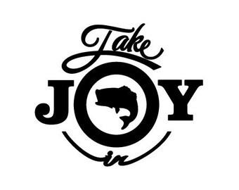 Take Joy In Fish Decal